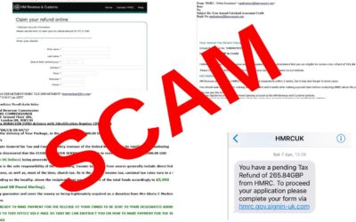 HMRC Refund Scams – Must Read Guidelines and Reminder from GMP Drivercare