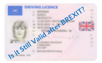 Driving Licence in the European Union after Brexit
