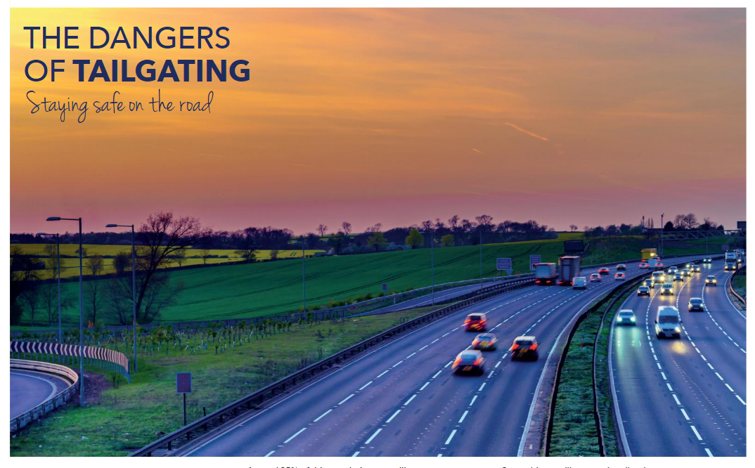 The Dangers of Tailgating – Staying Safe on the Road