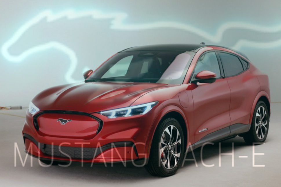 All New Ford Mustang Mach-E Electric Crossover with 300Miles Range